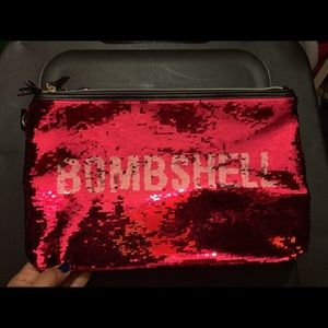 VS Bombshell Cosmetics Bag